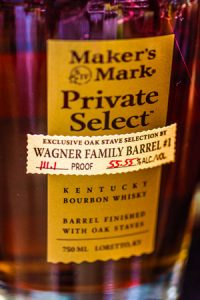Maker's Mark - Wagner Family Barrel